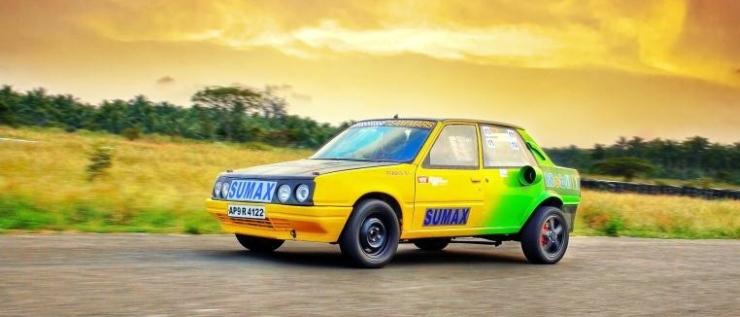 Team MARS' Peugeot 309 Drag Master 1