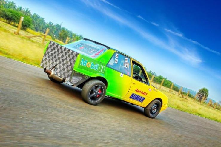 Team MARS' Peugeot 309 Drag Master 4