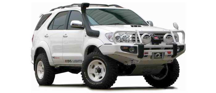 Toyota Fortuner Modified SUV 1