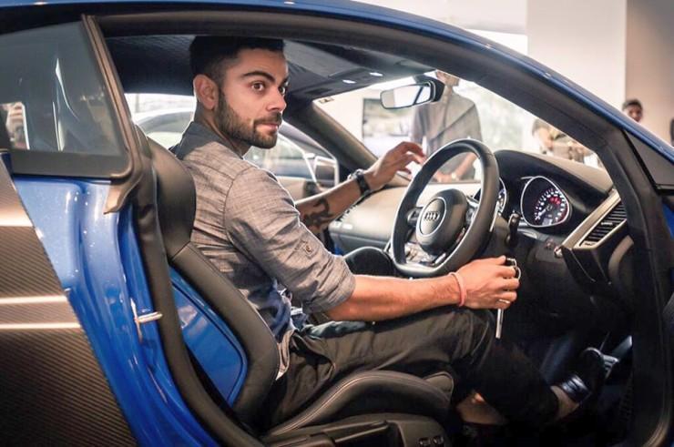 Virat Kohli in his Audi R8 LMX Supercar 3Virat Kohli With His Audi R8