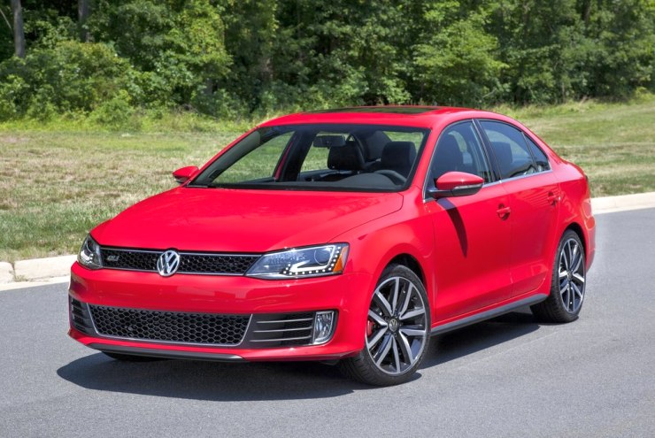 US-spec Volkswagen Jetta Diesel, one of the car to be hit by the emissions scandal.