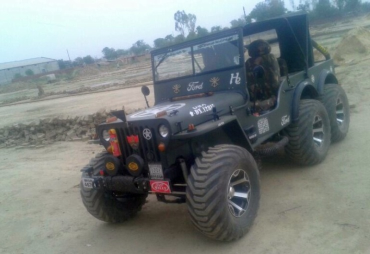 Willy's 6X6 Jeep 1