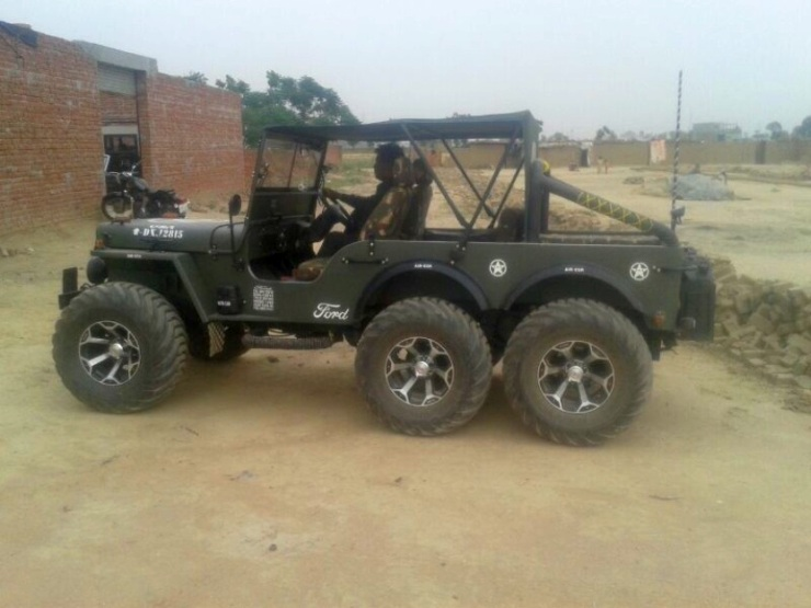 Jeep Willys For Sale In India >> Modified Jeeps of India - Outrageous to Outstanding