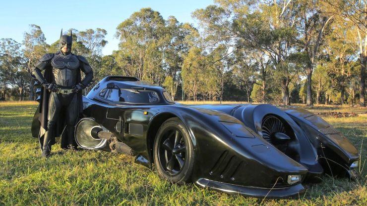 Zac Mihajlovic Batmobile 1