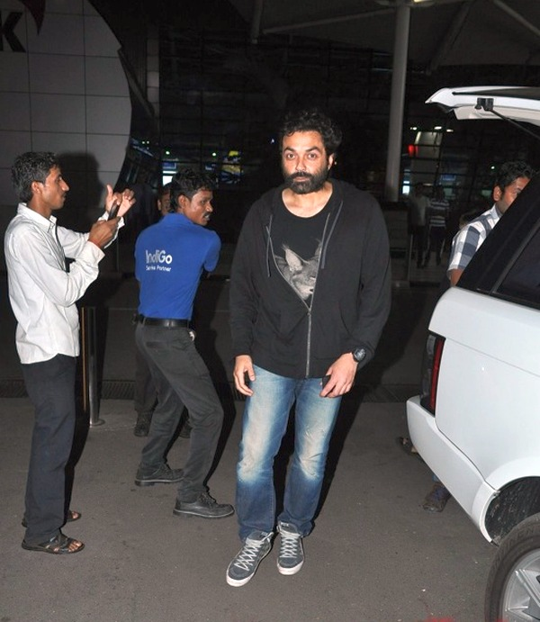 Bobby Deol with his Range Rover Vogue