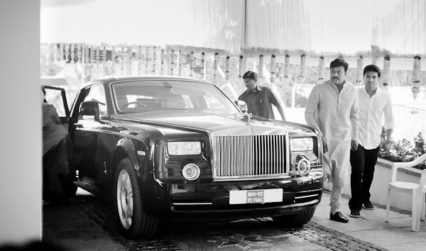 Chiranjeevi's Rolls Royce Phantom