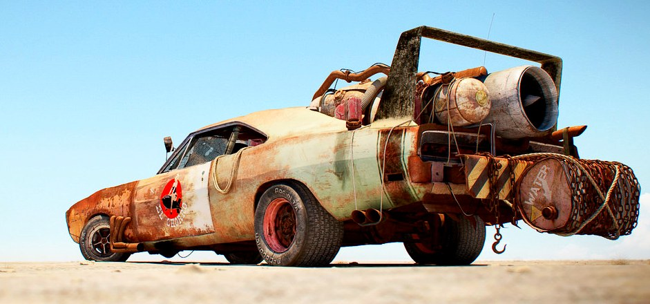 El Chorro Drag Car from Mad Max