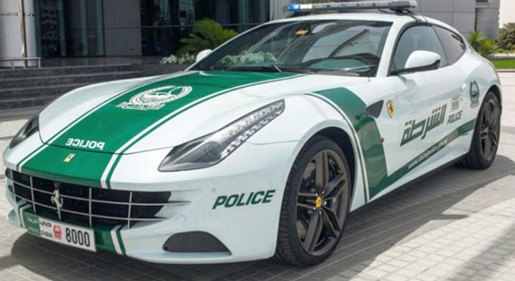 Ferrari FF of the Dubai Police