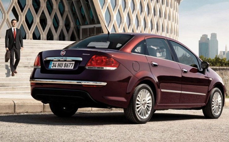 Fiat Linea Sedan Facelift 2