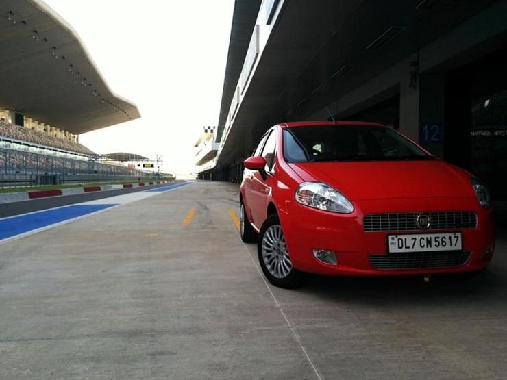 Fiat Punto on the BIC