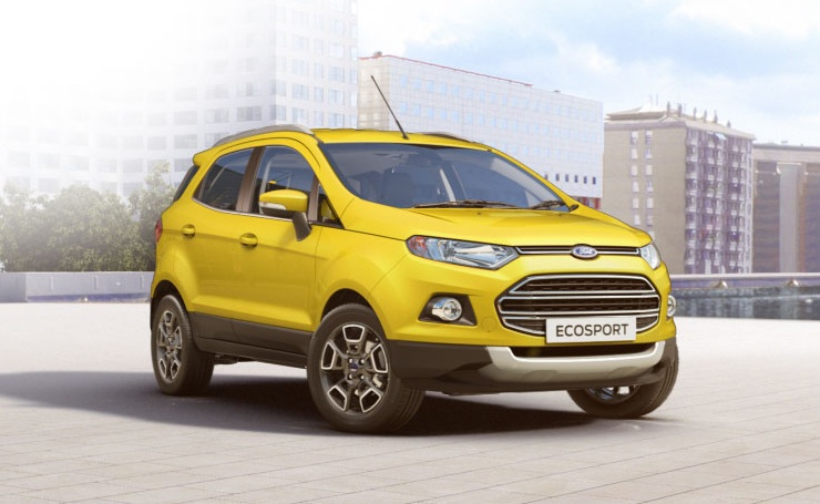 Facelifted Ecosport