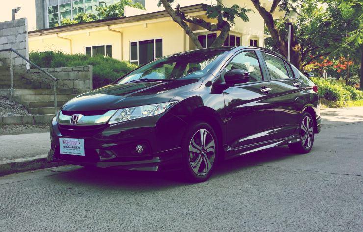 Honda City Sedan with Modulo Kit
