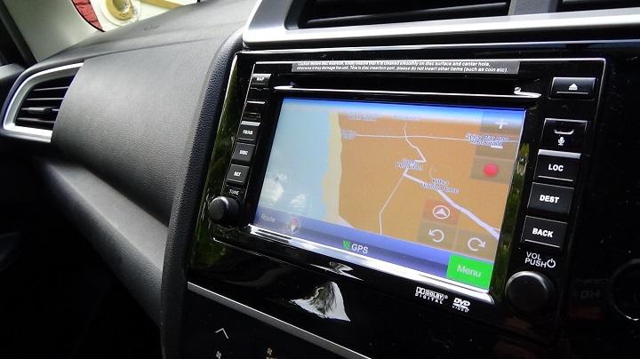 Honda Jazz  GPS