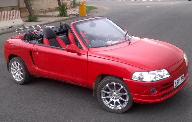 JS Design's Maruti 800 based two door convertible 6