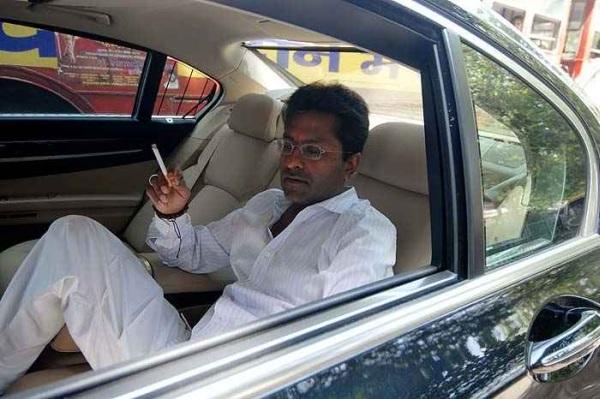 Lalit Modi and his Cars