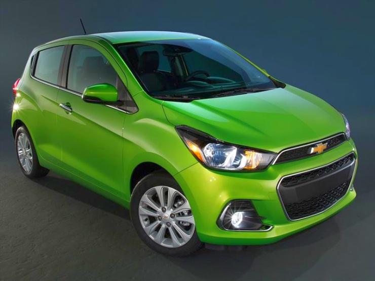 M2 platform based 2016 Chevrolet Spark