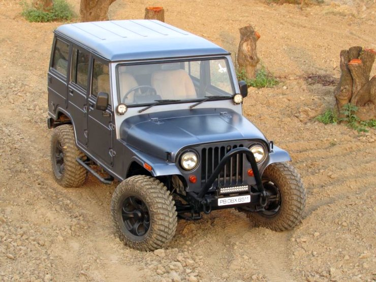 Cartoq Fan Modifies A Mahindra Armada Into A Stunner