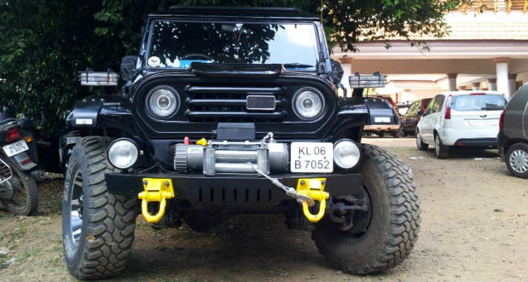 Modified Mahindra Armada Pick Up Truck