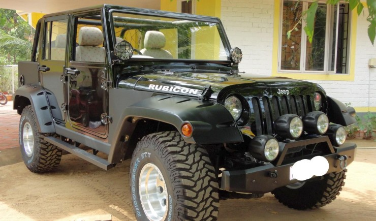 Mahindra Armada to Jeep Wrangler Unlimited 2