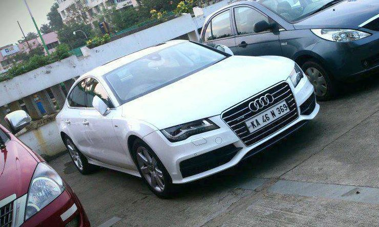 Mammootty's Audi A7