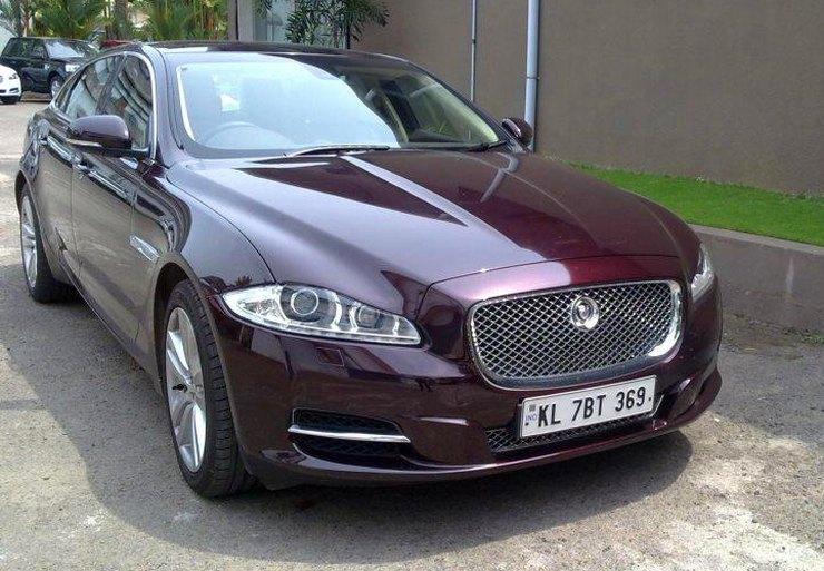 Mammootty's Jaguar XJ
