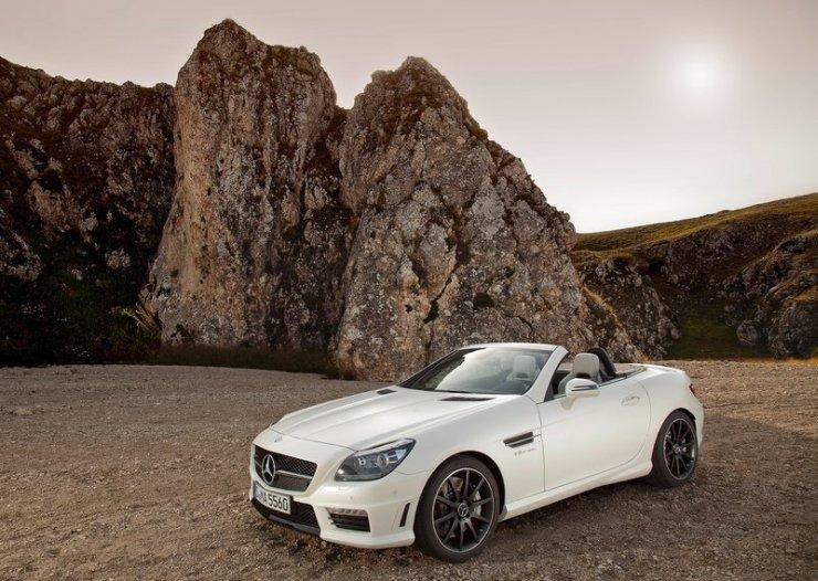 Mercedes Benz SLK55 AMG 1