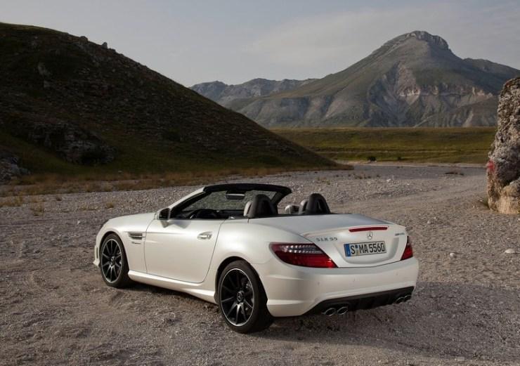 Mercedes Benz SLK55 AMG 3