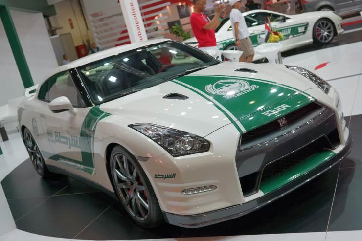 Nissan GT-R of the Dubai Police