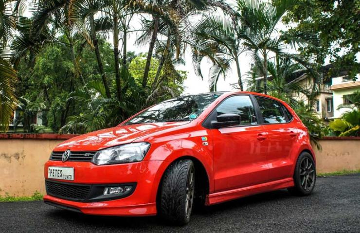 Pete's Tuned Volkswagen Polo GT TSI in Red