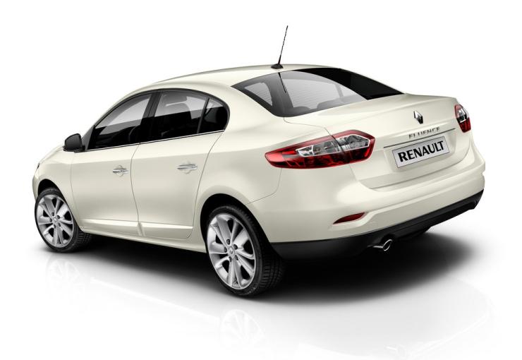 Renault Fluence Sedan Facelift 2