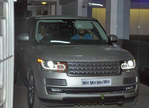 Sunny Deol in his Range Rover Autobiography