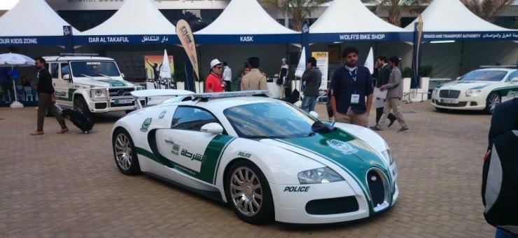 The Bugatti Veyron of the Dubai Police