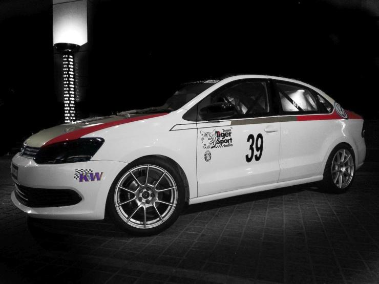 Tiger Sports Racing's Volkswagen Vento Custom