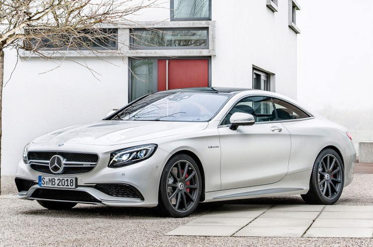 2015 Mercedes Benz S-Class Coupe