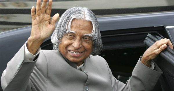Abdul Kalam with the W140 Mercedes Benz S-Class Limousine
