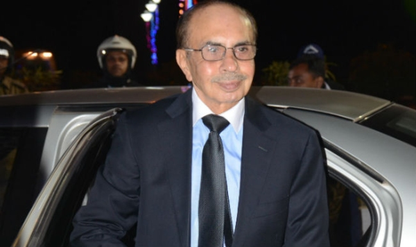 Adi Godrej with his Audi A8