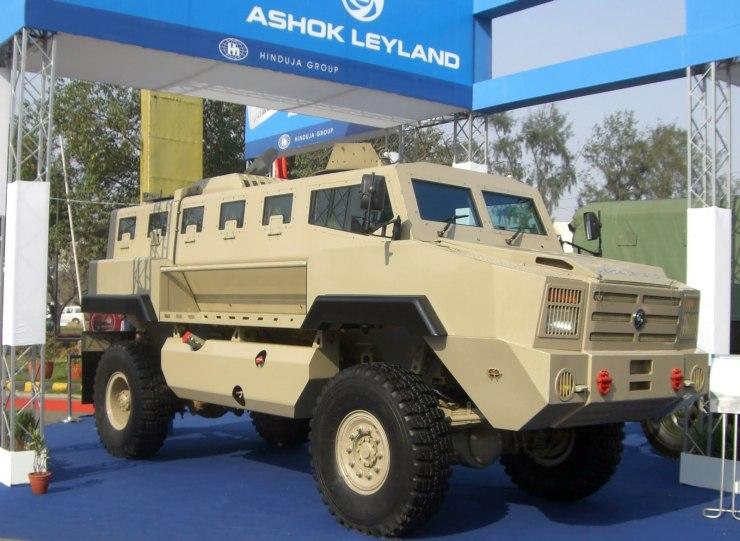 Ashok Leyland Mine Protected Vehicle 2
