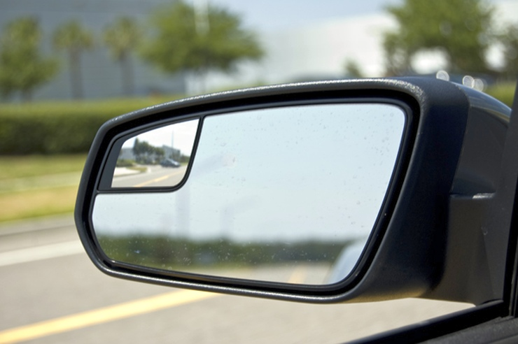 Blind Spot Convex Mirror