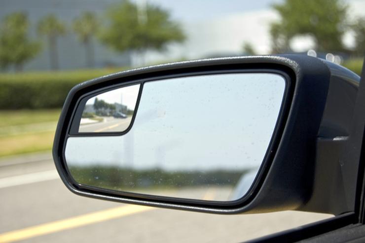 Blind Spot Convex Mirror