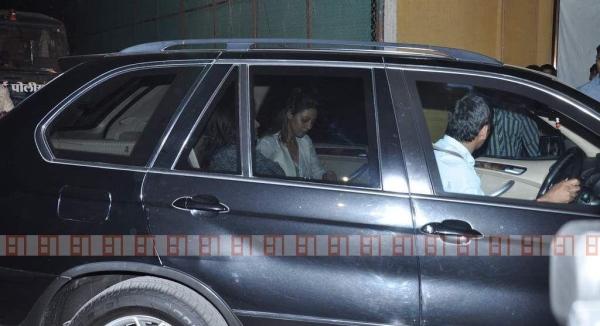 Gauri Khan in her BMW X5
