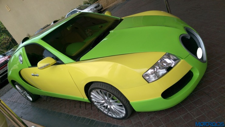 Gurmeet Ram Rahim Singh Insan's Bugatti Veyron Replica 1