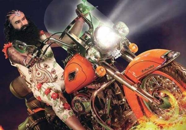 Gurmeet Ram Rahim Singh Insan's Harley Davidson