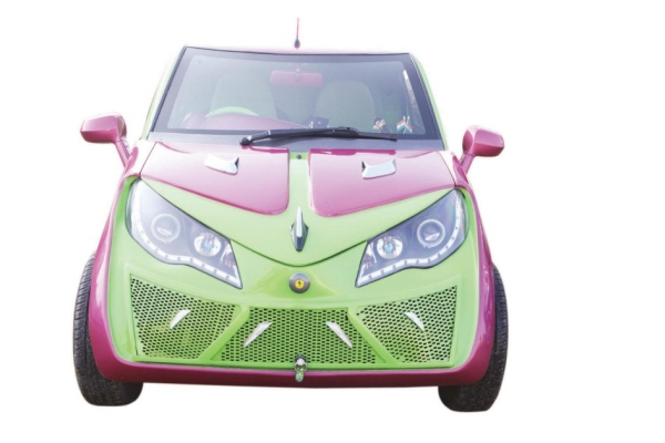 Gurmeet Ram Rahim Singh Insan's Modified Car 4