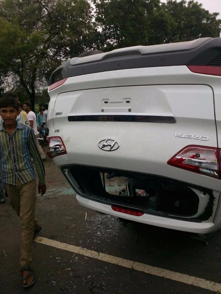 Hyundai Creta Crash 3