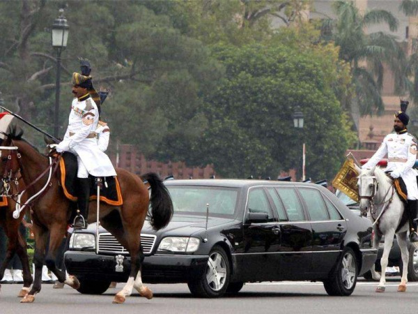 India President's Mercedes Benz W140 S-Class Limousine