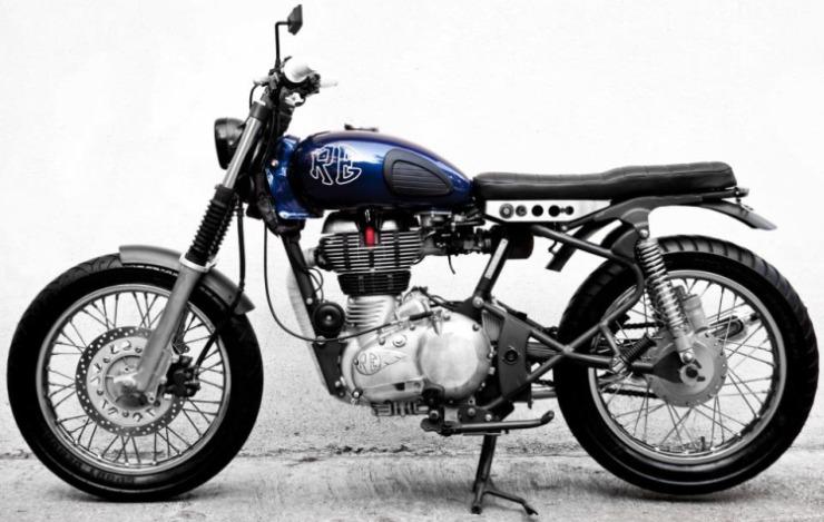 JC Moto's Royal Enfield Barebone 500 1