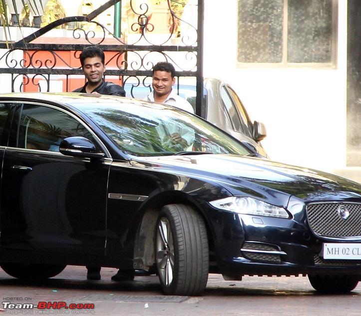 Karan Kohan with his Jaguar XF Sedan