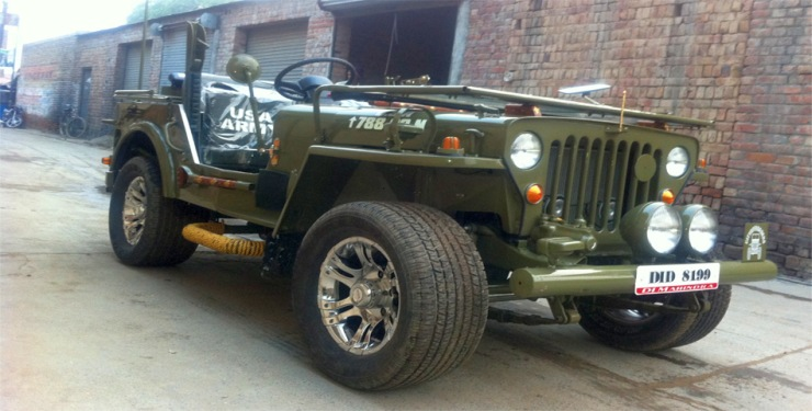 Low Rider Jeep