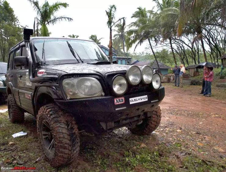 Mahindra Scorpio 4X4 Custom 2