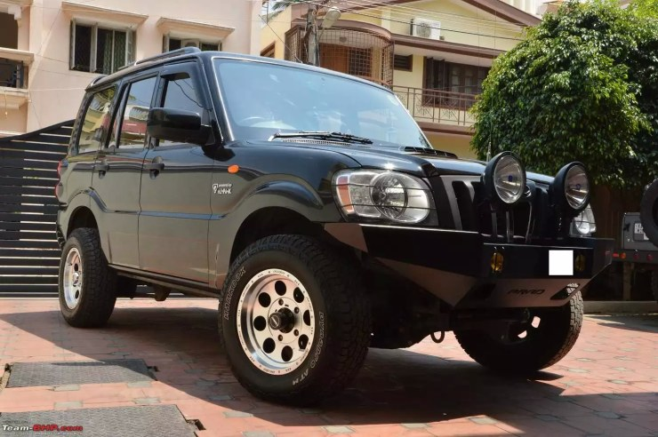 Modified Mahindra Scorpio SUVs - From the Tasteful to the ...
